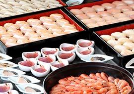 旬魚のにぎり寿司
