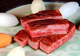 信州産黒毛和牛ステーキ