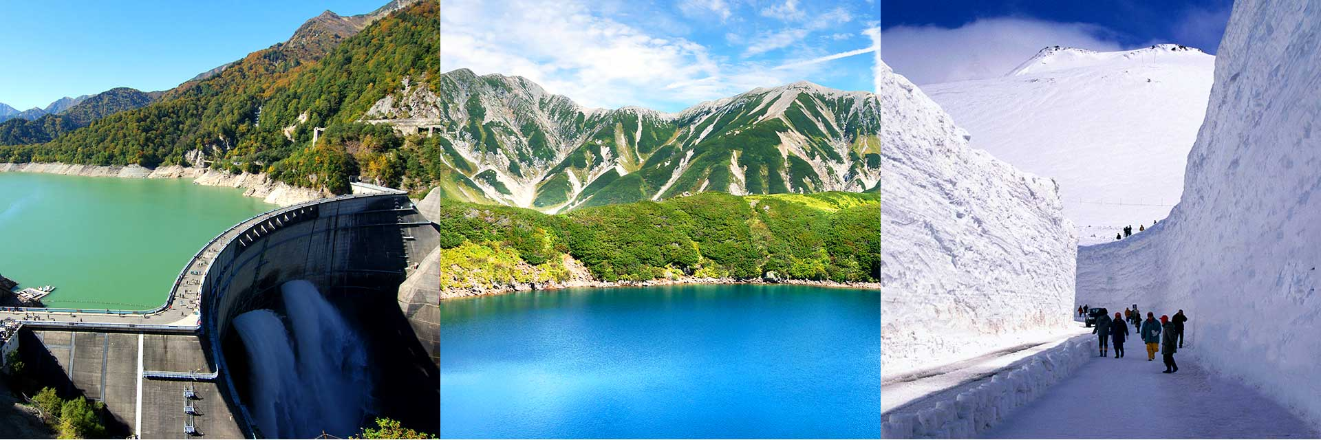 Kurobe Dam, the Alpine Route and more…A base from which to reach numerous sightseeing spots