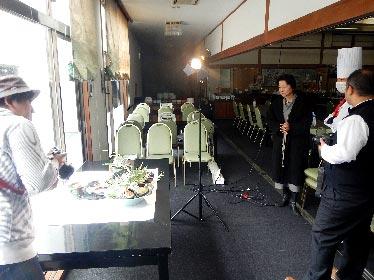 北アルプス国際芸術祭 ランチ会席写真撮影