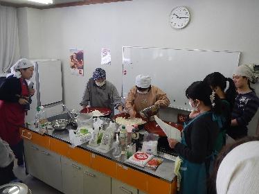 農産物「おやき」学習会に参加しました