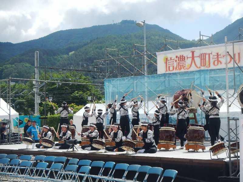 芸術祭開幕!第3回信濃大町まつりが行われました。