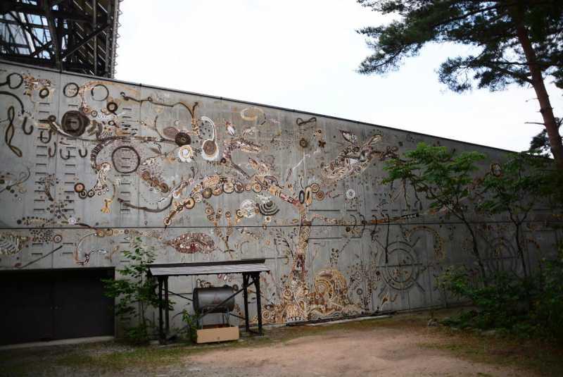北アルプス国際芸術祭 - ダムエリア