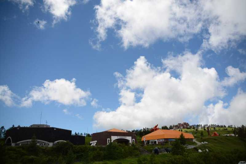 標高約2,000m 美ヶ原高原美術館