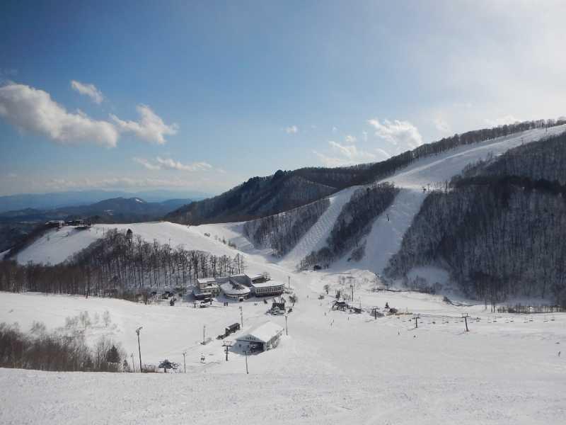 鹿島槍スキー場:初心者~上級者まで全15コース