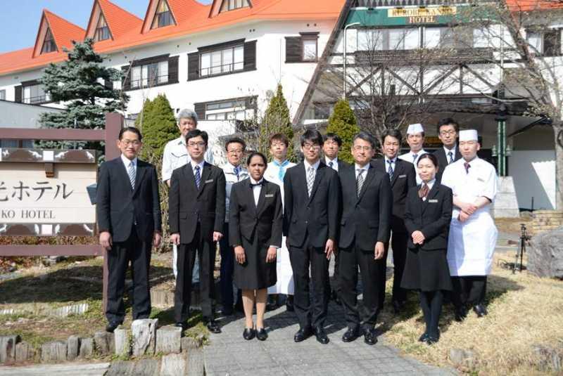 4/1(日) 黒部観光ホテル入社式