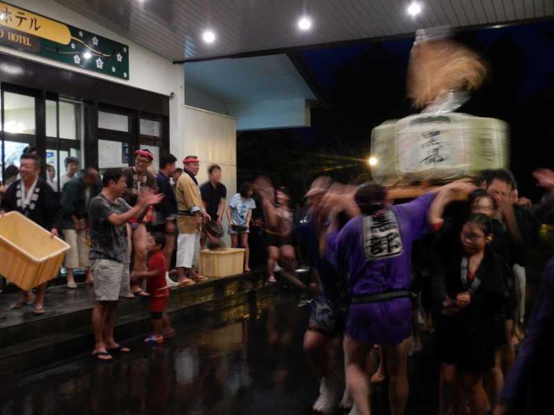 8/24(土) 大町温泉郷花火 サマーフェスティバルが開催されました。