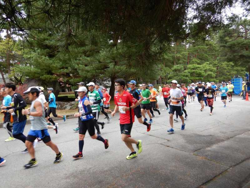 第36回 大町アルプスマラソンが行われました。