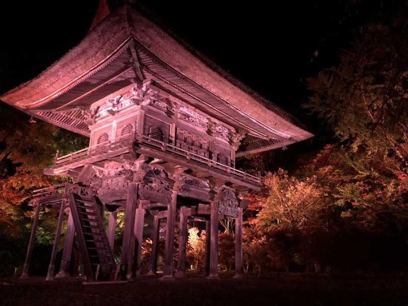 明日10/30~11/4開催!霊松寺ライトアップ